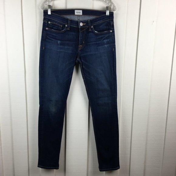 Hudson Jeans Tally Crop Dark Wash